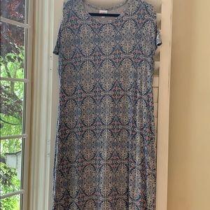 XL Maria Maxi Dress with gorgeous vintage feel!